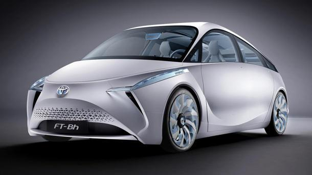 Toyota FT-Bh hybrid concept makes 134.5 mpg the hard way