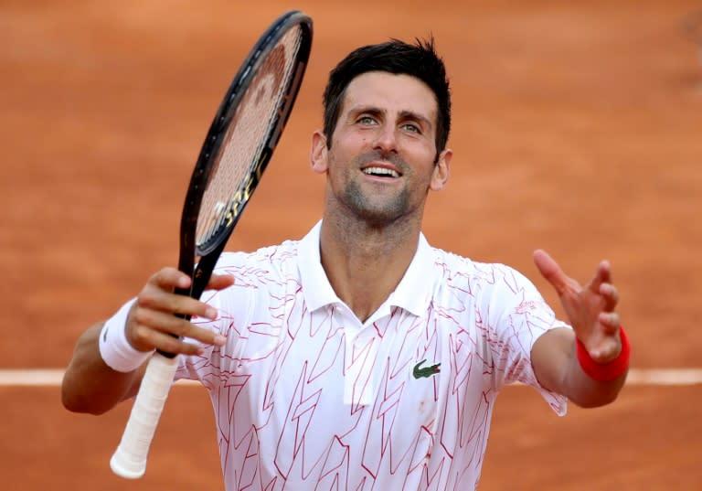 Top seeds Djokovic, Halep into Italian Open finals