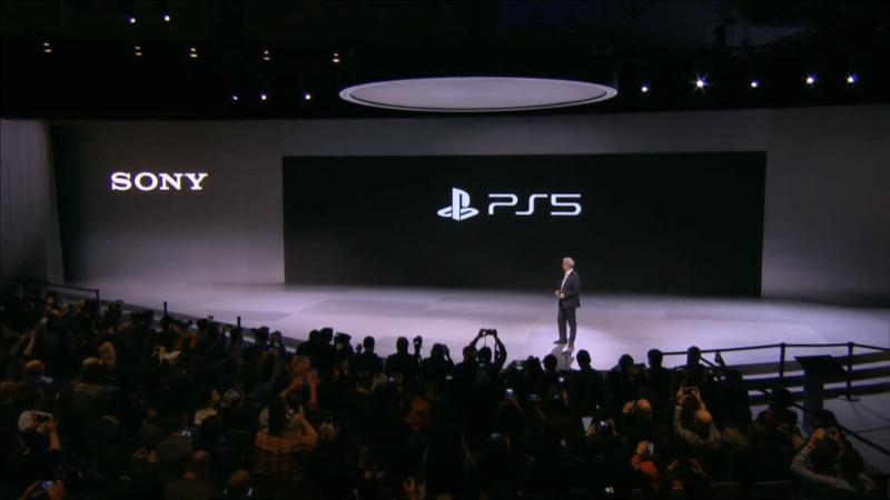 Sony最新遊戲機PS5預購開跑,30秒就被一掃而空。(翻攝自Sony CES2020 發表會直播)