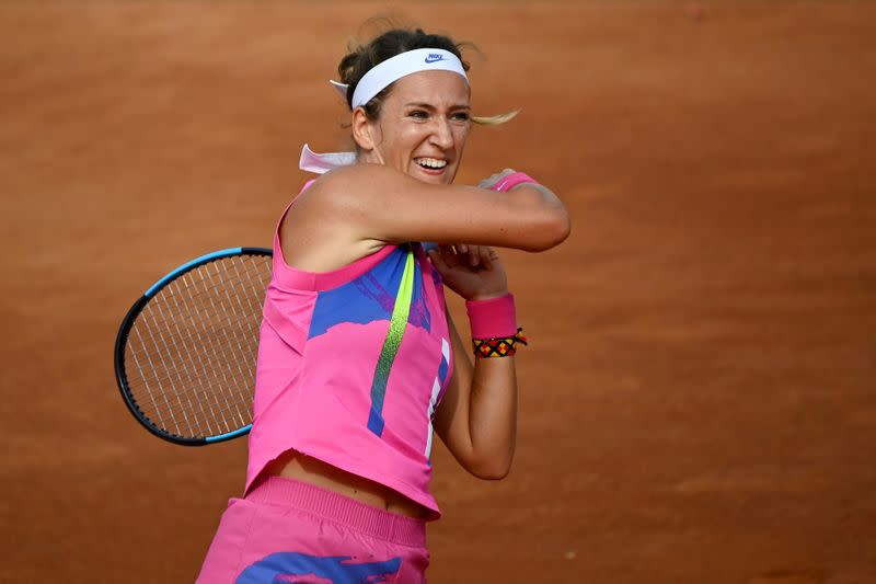 Azarenka nervous about fans at French Open