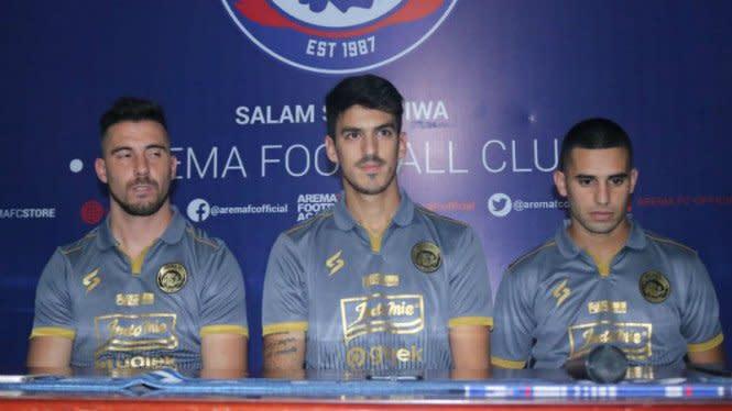 Jonathan Bauman Cabut, Arema FC Gerak Cepat Amankan Pemain Asing