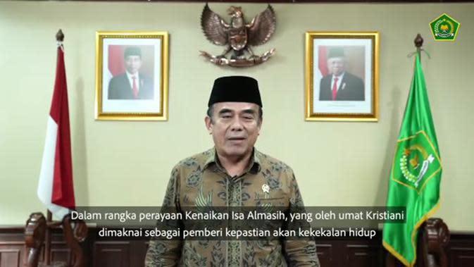VIDEO: Hari Kenaikan Isa Almasih, Ini Ucapan Menteri Agama RI Fachrul Razi