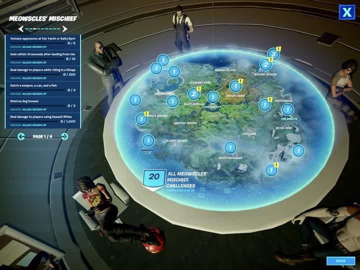 Fortnite Season 2 Week 6 Challenges