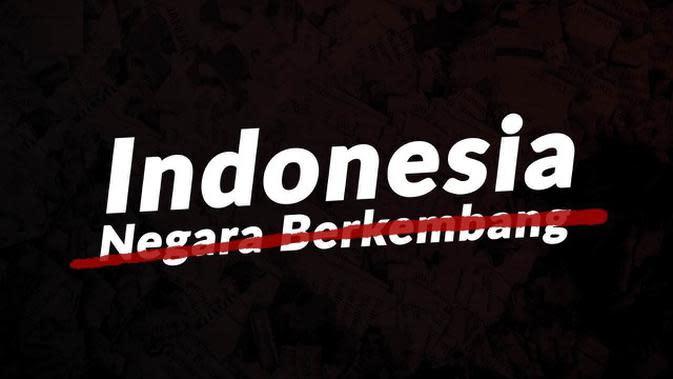 VIDEO: Indonesia Keluar dari Daftar Negara Berkembang