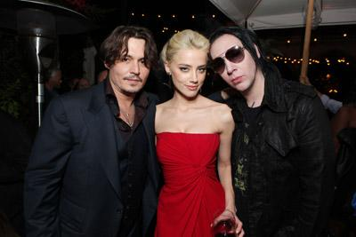 Marilyn Manson Loves Going to Movie Premieres