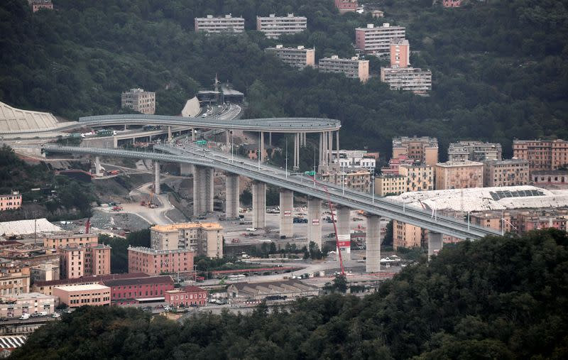 Two years after disaster, Italy sees hope in new Genoa bridge