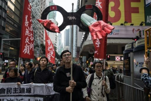 Protest erupts in Hong Kong over proposed changes to extradition laws