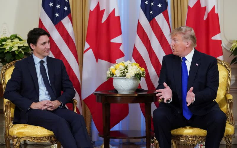 Trump, Trudeau discuss two detained Canadians; China grants virtual consular access