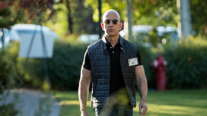 Jeff Bezos Jadi Miliarder yang Tetap Untung Meski Digempur Virus Corona