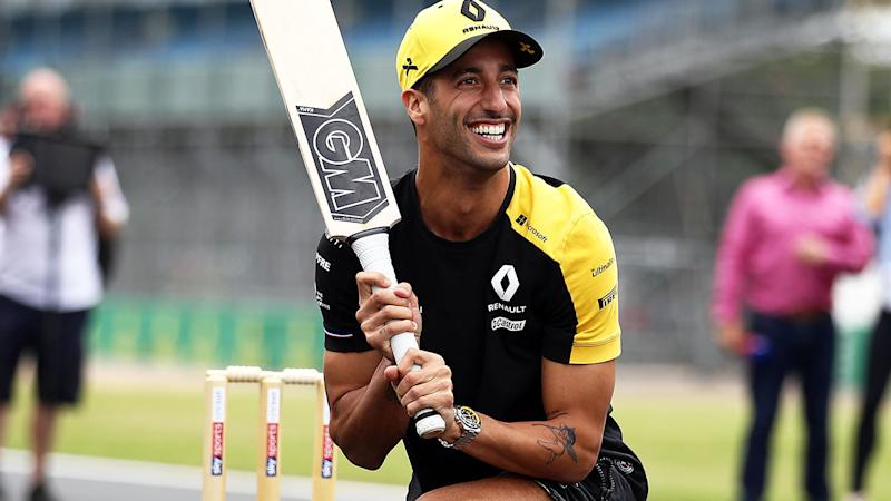Daniel Ricciardo, pictured at Silverstone, is determined to improve on Renault's recent performances.