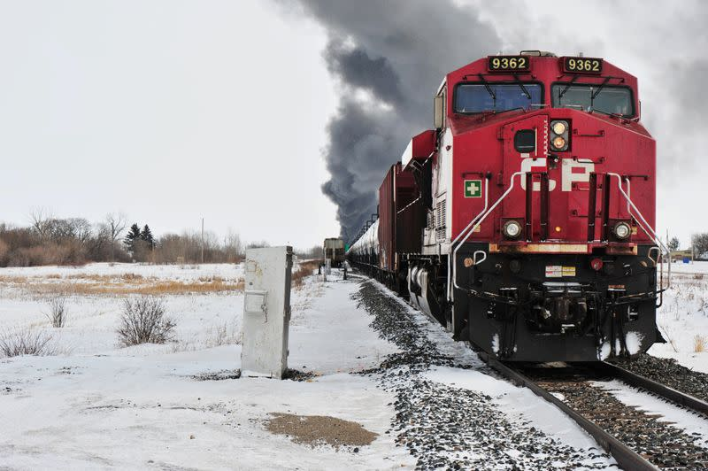 Canada to impose speed limits on trains carrying dangerous goods after crash
