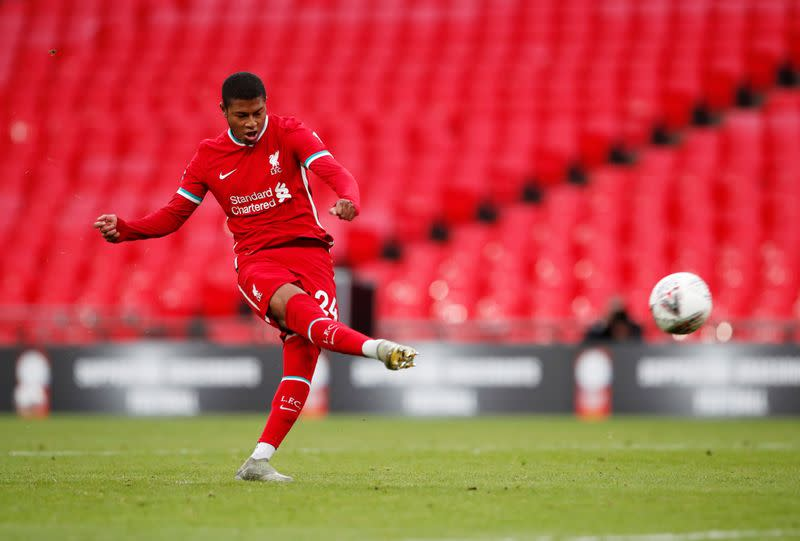 Blades sign Liverpool's Brewster for club-record fee