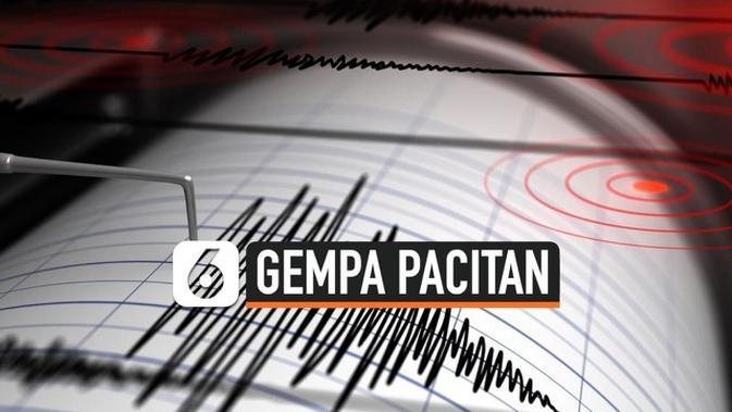 VIDEO: Gempa Magnitudo 5 Guncang Pacitan