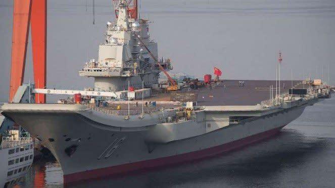 VIVA Militer: Kapal induk ketiga Angkatan Laut China (PLAN)