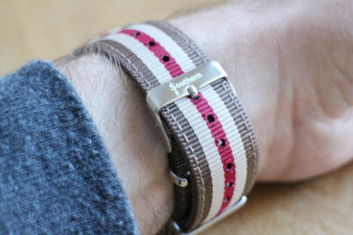 best Apple Watch bands Southern Straps Nato Strap bottom
