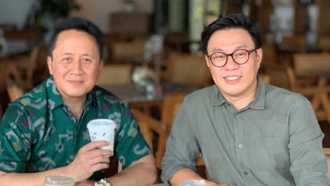 Penasihat Baru di East Ventures, Triawan Munaf (Kiri) dan Co-founder & Managing Partner di East Ventures Willson Cuaca (Kanan). Kredit: East Ventures