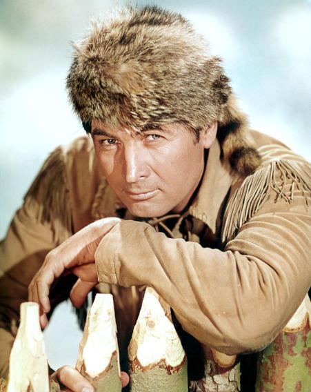 """""""Davy Crockett"""" Fess Parker"""