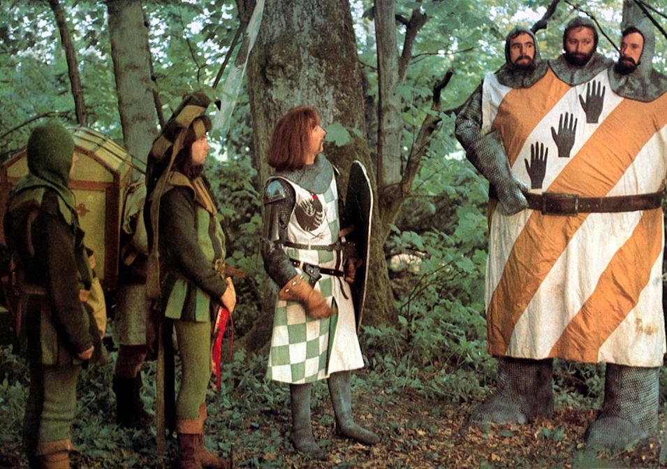 100 funniest movies to see before you die, Monty Python and the Holy Grail