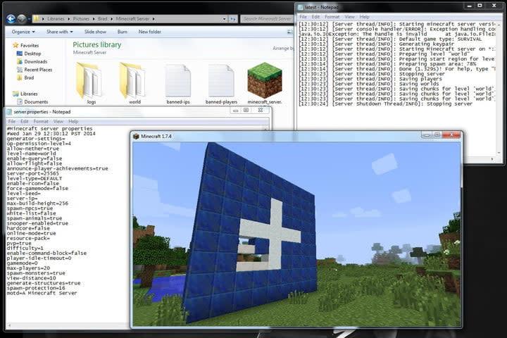 Minecraft Server Running