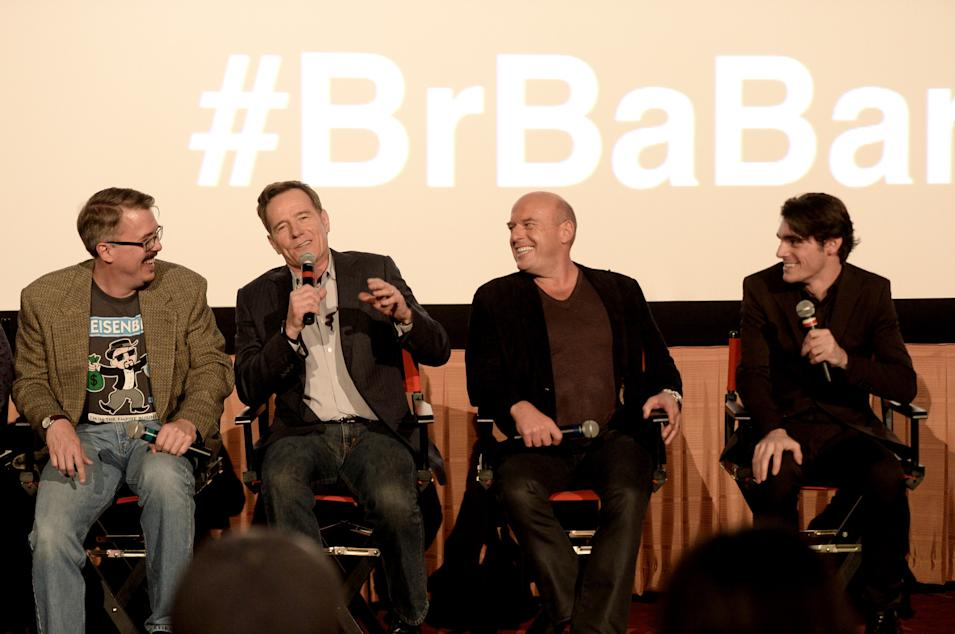 """No Half Measures: Creating The Final Season Of Breaking Bad"" DVD Launch - Q & A"