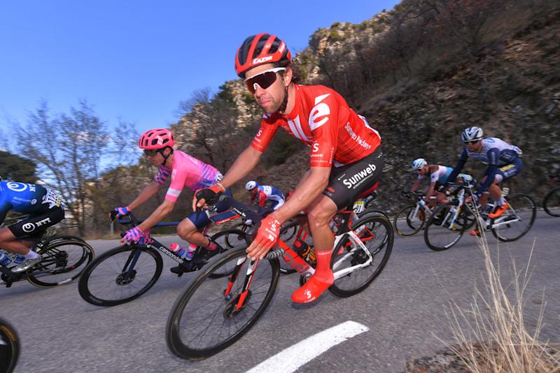 VALDEBLORE LA COLMIANE FRANCE MARCH 14 Michael Matthews of Australia and Team Sunweb during the 78th Paris Nice 2020 Stage 7 a 1665km stage from Nice to Valdeblore La Colmiane 1500m Paris Nice 2020 final stage as part of the fight against the spread of the Coronavirus ParisNice parisnicecourse PN on March 14 2020 in Valdeblore La Colmiane France Photo by Luc ClaessenGetty Images