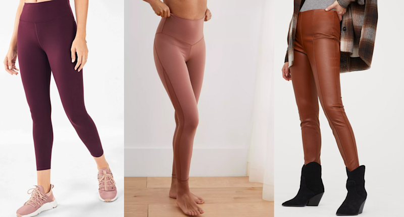 Images via Fabletics, Aerie and H&M.
