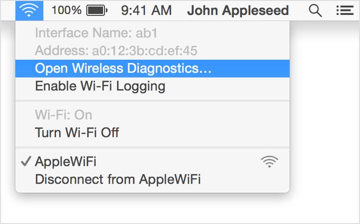OS X Mac Address