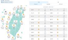 午後變天!氣象專家︰鋒面南下 周末北台灣轉雨降溫