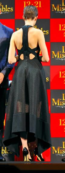 Anne Hathaway The Premiere of 'Les Miserables'  in Tokyo Tokyo. Japan - 28.11.12 **Not available for publication in Germany and Austria. Available for the rest of the world ** Credit: Newspix.pl/Wenn.com