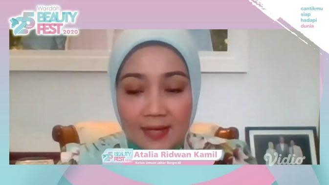 Atalia Ridwan Kamil./Copyright Vidio