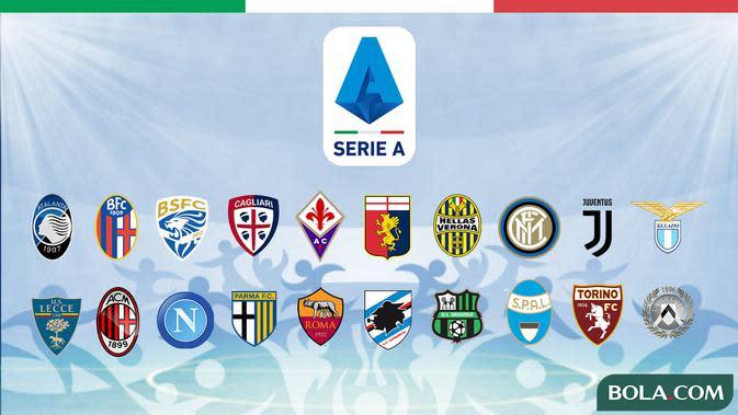 Hasil dan Klasemen Sementara Liga Italia: Sassuolo ke Posisi Kedua, AS Roma Menang Telak