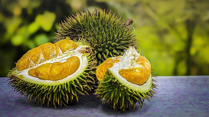 Ilustrasi durian. (Photo on Pixabay)