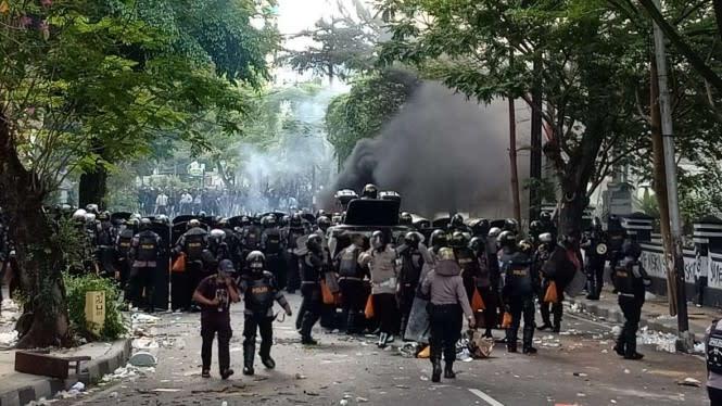 Kuli Bangunan Perusuh Demo Omnibus Law di Malang Ternyata Benci Polisi