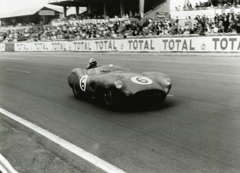 BR1 (1956-1959) – The DBR1 is recognised as one of the most successful racing Aston Martins. Many famous victories were secured although none as famous as the 1st and 2nd place at Le Mans in 1959. Aston Martin went on to win the 1959 World Sportscar Championship with the DBR1. Only four examples were built (AMHT)