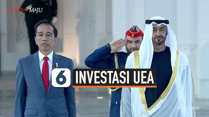 VIDEO: Uni Emirat Arab Bakal Investasi di Indonesia Rp 312 T