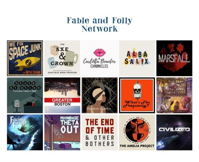 Fable & Folly fiction podcast network aims for adverts that audiences want to listen to