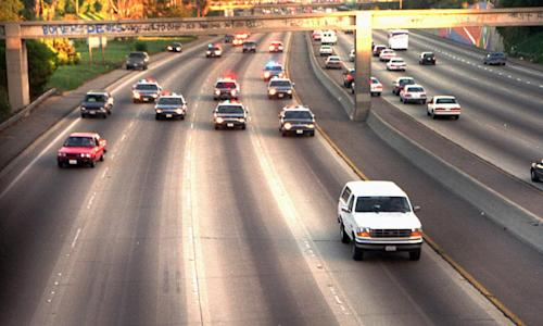 Pilot's-Eye View: How O.J. Simpson's Infamous Bronco Ride Was Caught on Tape