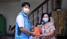 魏嘉賢訪視急難救助戶 關切生活現況並發放抒困金