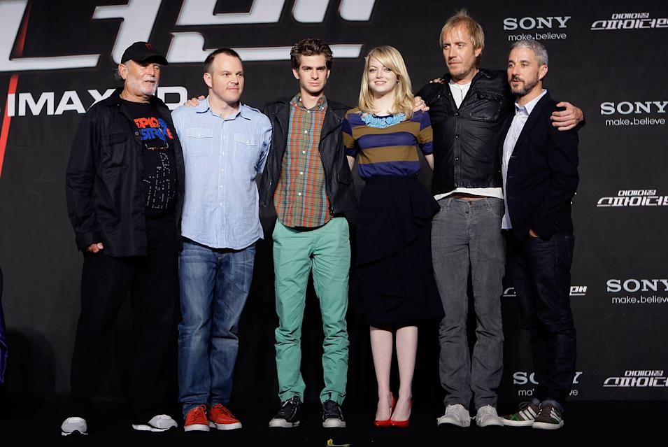 'The Amazing Spider-Man' Press Conference