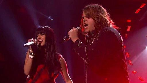 Listen to Jena Irene and Caleb Johnson's Actually Awesome 'Idol' Coronation Songs