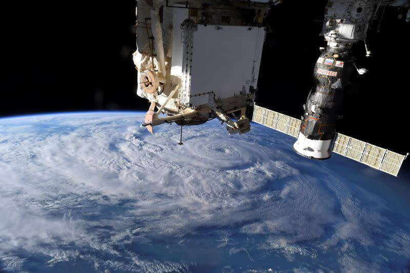 Air leaking from International Space Station but no danger to crew - Roscosmos agency