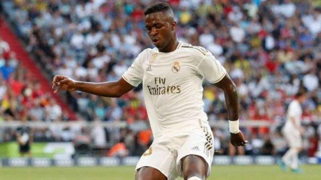 Pemain muda Real Madrid, Vinicius Junior