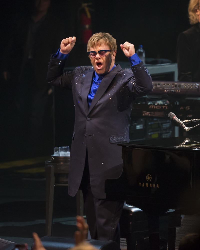 Elton John is Almost Too Cool For School at Incredible USC Gig