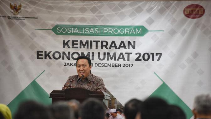 Presiden Direktur PT Adaro Energy Tbk, Garibaldi Thohir. (Liputan6.com/Fiki Ariyanti)
