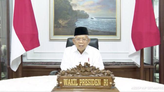 VIDEO: Wapres Ma'ruf Amin Minta Jaga Kemaslahatan Bersama di Hari yang Fitri