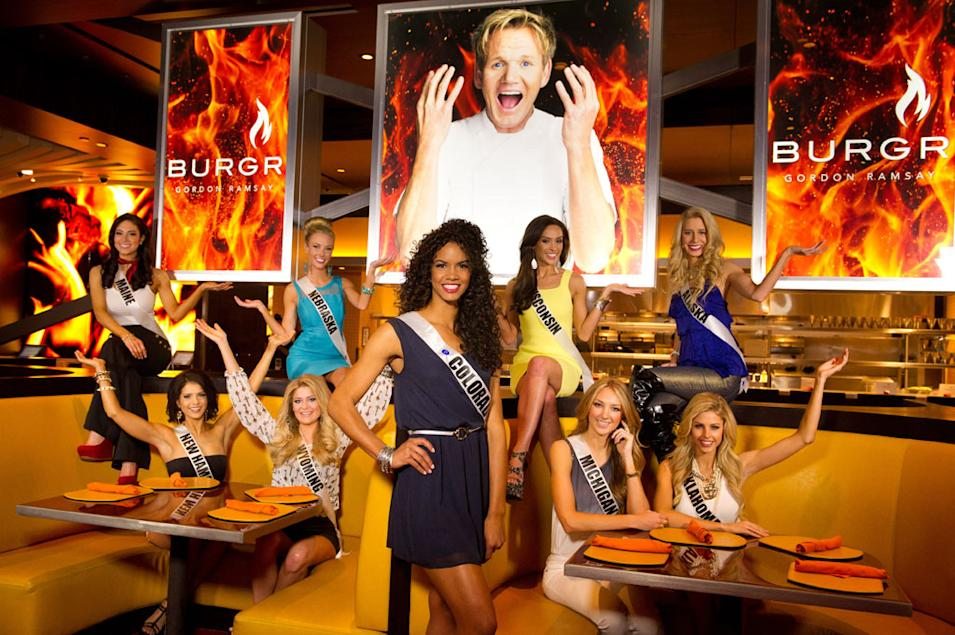 Miss USA 2013, BurGR
