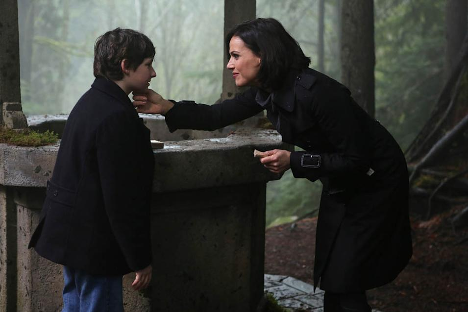 """Once Upon a Time"" -- ""Welcome to Storybrooke"" JARED GILMORE, LANA PARRILLA"