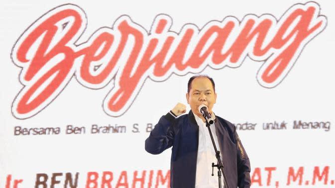 Deklarasi Relawan, Ben Brahim Beberkan Program Pro-Rakyat