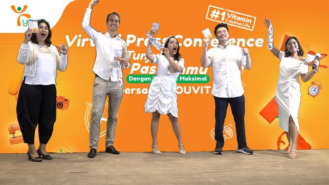 Youvit mengajak masyarakat Indonesia kembali beraktivitas dengan imunitas yang maksimal. (Foto: Youvit)