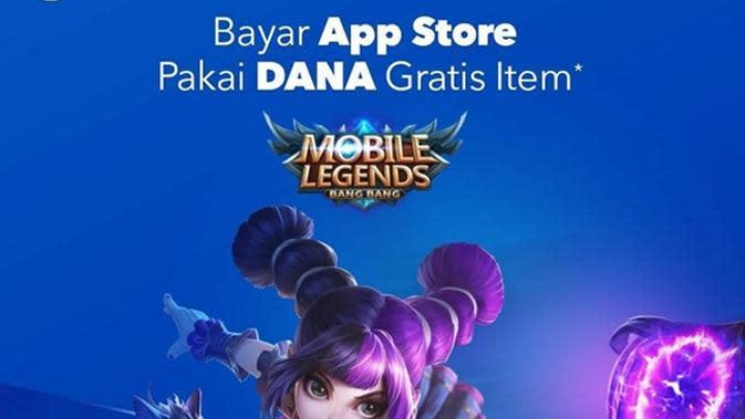 Bayar App Store Pakai DANA Gratis Item.